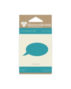 Diamond Press Mini Stamp and Die - Speech Bubble