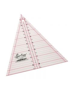 """Sew Easy 8.5""""x7"""" Patchwork Triangle Ruler"""