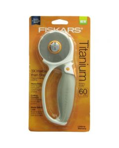 Rotary Cutter: Titanium: Loop Softgrip: 60mm thumb