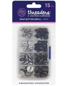 Sewing Hooks & Fasteners | Bag Snaps & Clasps