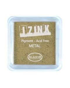 Aladine Izink Pigment Stamp Pad - Metal Gold