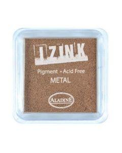 Aladine Izink Pigment Stamp Pad - Metal Copper