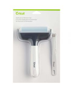 Cricut Brayer roller applicator and remove and tweezer set