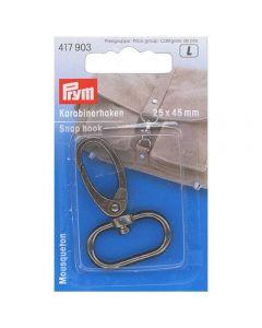 Prym Antique Silver 25mm x 40mm Snap Hook