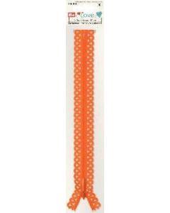 Prym 20cm Love Zip - Orange