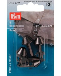 Prym Antique Silver 15mm Base Studs for Bags