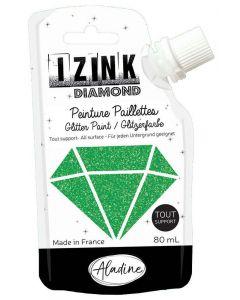 Aladine Izink Diamond Paint (80ml) - Vert Fonce