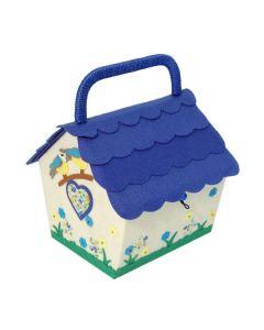 Groves Birdhouse Sewing Box - Birdsong