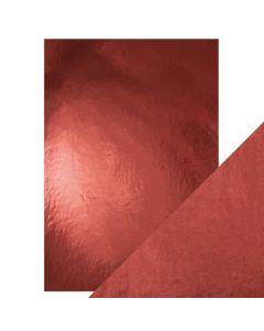 Tonic Studios Craft Perfect Gloss Mirror Card - Opera Red
