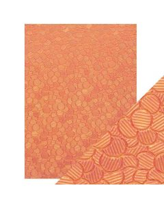 Tonic Studios Craft Perfect Handcrafted Paper - Pink Sunset