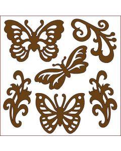 Imagination Crafts Magi-Cutz Butterflies