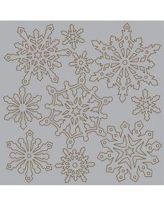 Imagination Crafts Magi-Cutz Snowflakes