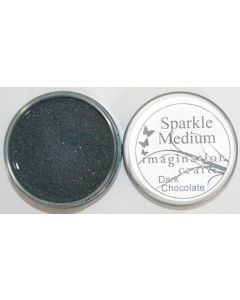 Imagination Crafts Sparkle Medium - Dark Chocolate