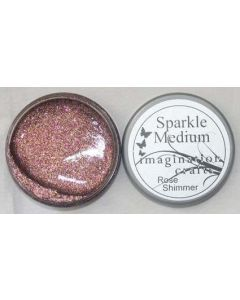 Imagination Crafts Sparkle Medium - Rose Shimmer
