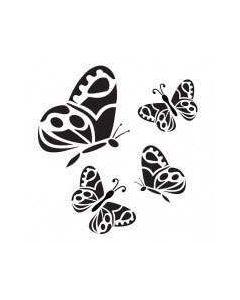 Imagination Crafts Mini Stencil - Mini Butterflies