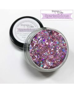 Stamps by Chloe Sparkelicious Glitters - Raspberry Ripple