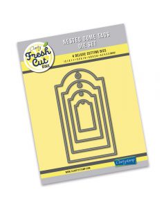 Claritystamp Nested Die Set - Dome Tags