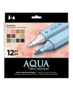 Aqua by Spectrum Noir 12 Pen Set - Essentials