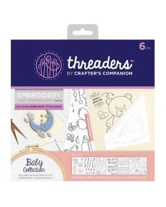 Threaders Embroidery Transfer Sheets - Baby