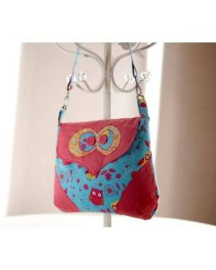Debbie Shore Pattern and Instructions Download - Betsy Owl Bag