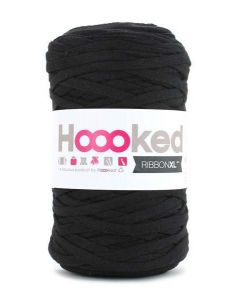 Hoooked RibbonXL Yarn - Black Night