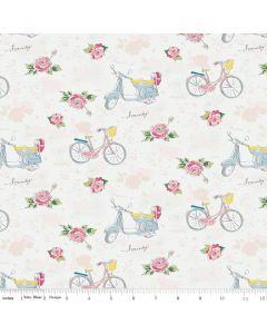 Riley Blake Someday Fabric - Main Cream