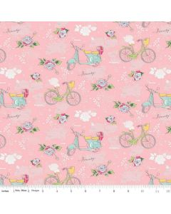 Riley Blake Someday Fabric - Main Pink
