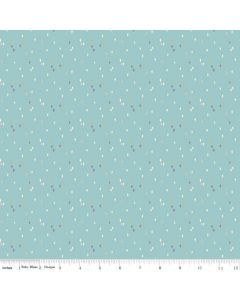 Riley Blake Someday Fabric - Sprinkles Aqua