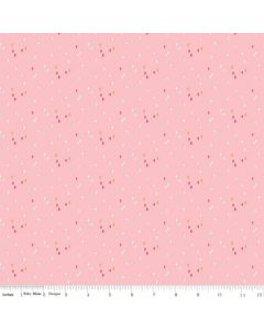 Riley Blake Someday Fabric - Sprinkles Pink