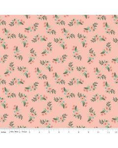 Riley Blake Bliss Fabric - Floral Blush