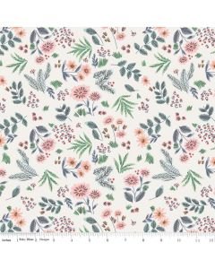 Riley Blake Edie Jane fabric - Floral Cream
