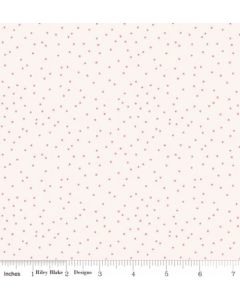 Riley Blake Edie Jane fabric - Dot Cream
