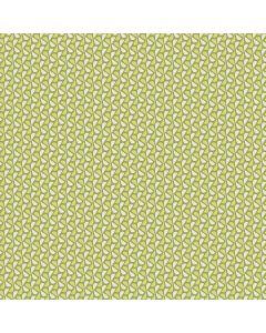 Sara Signature Sew Retro Fabric - Green Leaves