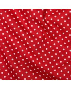 Rose and Hubble 100% Cotton Poplin - Red