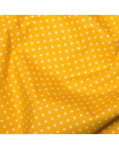 Rose and Hubble 100% Cotton Poplin - Yellow