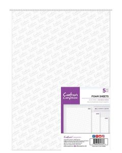 Crafter's Companion Double Sided Foam Sheets - A4 Size (5PC)