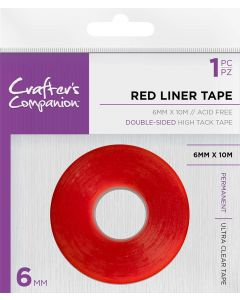 Crafter's Companion Red Liner Double Sided Tape (6mm)