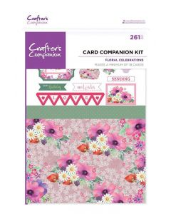 Crafter's Companion Card Companion Kits - Floral Celebrations