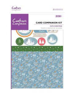 Crafter's Companion Card Companion Kits - Cute Christmas