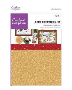 Crafter's Companion Card Companion Kits - Traditional Christmas