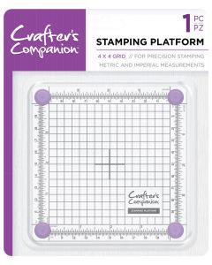 "Crafter's Companion 4""x4"" and 6""x6"" Stamping Platforms"