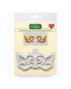 Katy Sue Designs Mould - Leaf Swirl