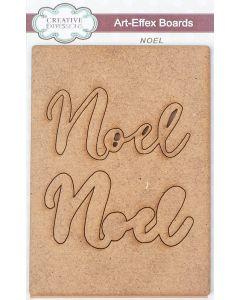 Creative Expressions Art-Effex MDF Boards - Noel