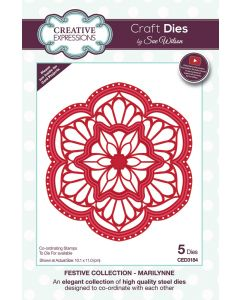 Creative Expressions Festive Collection Craft Die - Marilynne