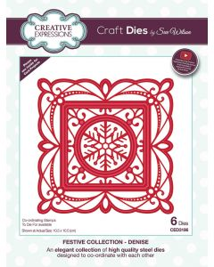 Creative Expressions Festive Collection Craft Die - Denise
