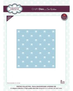 Creative Expressions Festive Collection Background Layering Die - Paula
