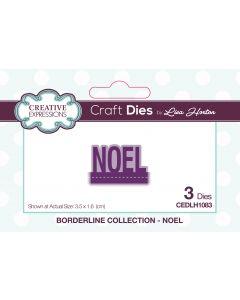 Creative Expressions Borderline Die Set - Noel