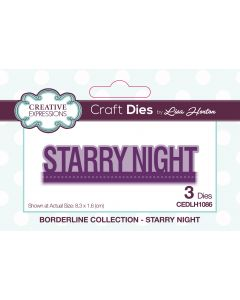 Creative Expressions Borderline Die Set - Starry Night