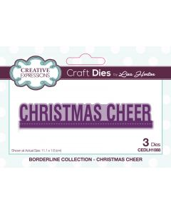 Creative Expressions Borderline Die Set - Christmas Cheer