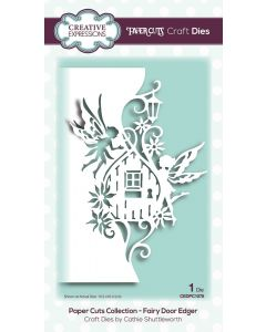 Creative Expressions Paper Cuts Collection - Fairy Door Edger Craft Die